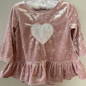 Pippa and Julie pink long sleeve size 18-24 mos